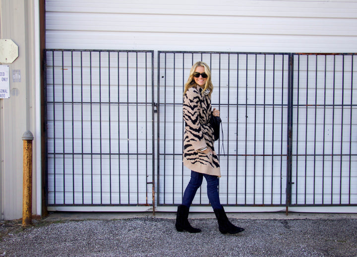 #12daysofsweaters - favorite leopard print