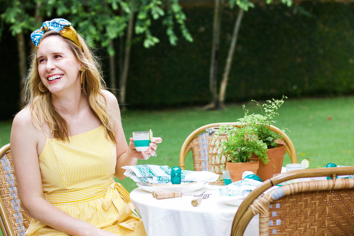 Carte Blanche with Interior Designer Lindsey Herod: A Traditional Garden Party with Tropical Twists