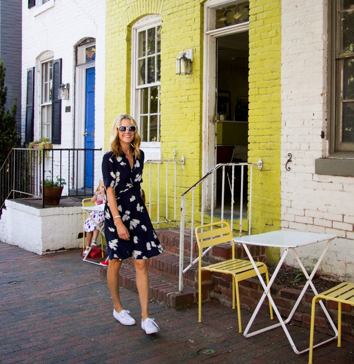 floral dress | spotlight on Ganni