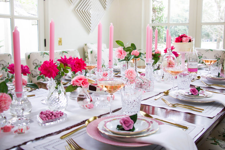 This Tablescape Is Proof Valentine's Day Is Destined To Be Celebrated At Home This Year
