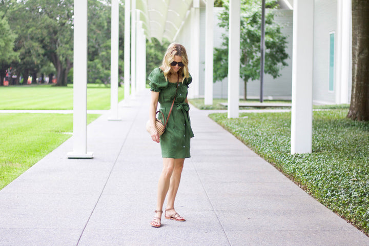 A Truly 24/7 Frock in a Gorgeous Olive Green