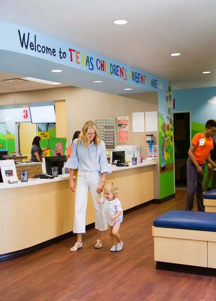 spotlight on Texas Children's Urgent Care + Q&A w/ Dr. Terry Yen