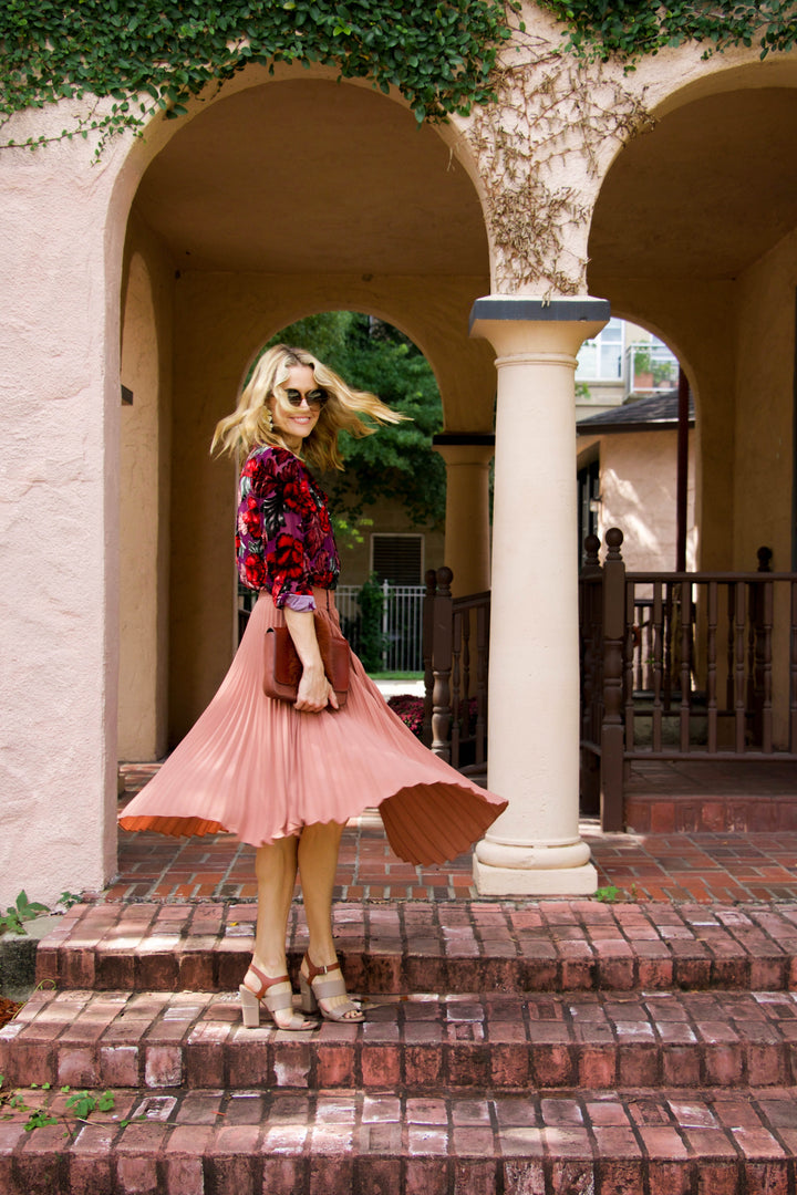 The Dusty Rose Skirt of my Dreams + 15 skirts under $200!