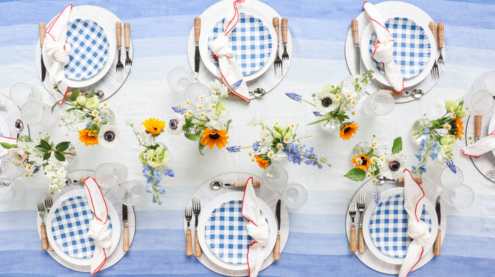 Six Ways to Set An Unforgettable Fourth of July Table