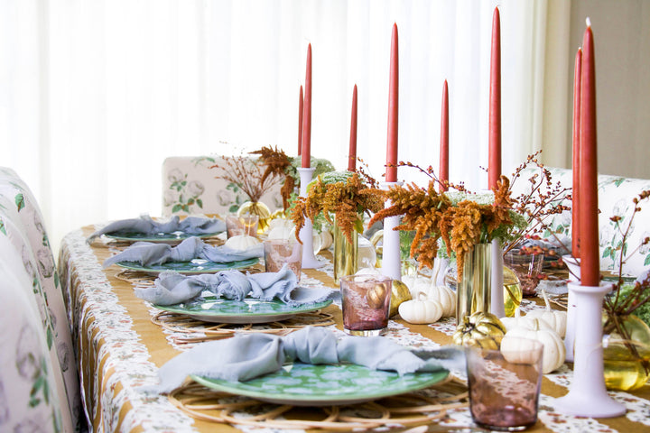 How We're Dressing Our Dining Table for Its Most Important Day of the Year, Thanksgiving