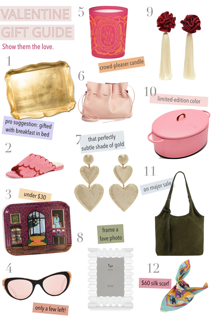 Valentine's Day Is 10 Days Away: Forward This Gift Guide to your Lover