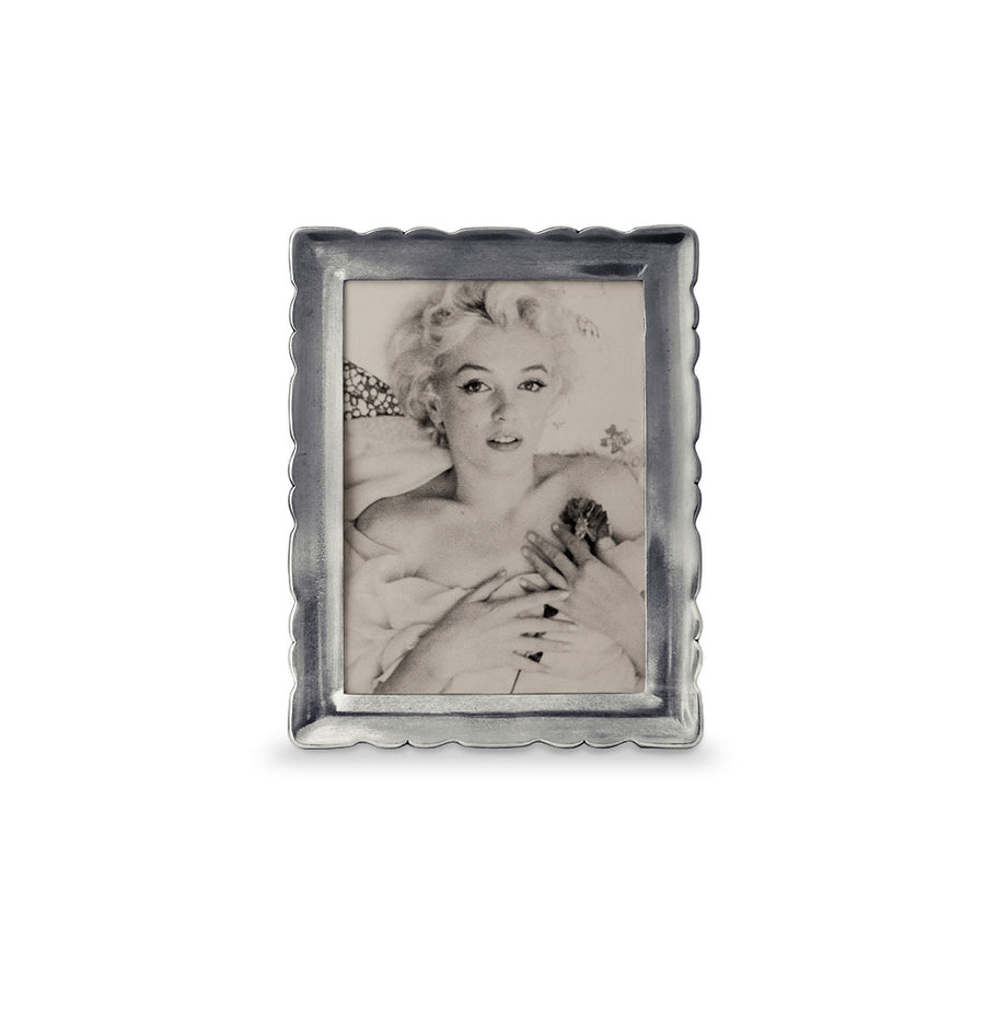 Pewter Carretti Rectangle Frame, 5