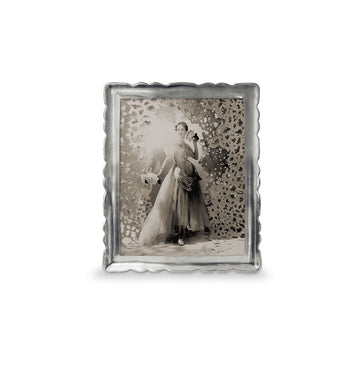 Pewter Carretti Rectangle Frame, 8