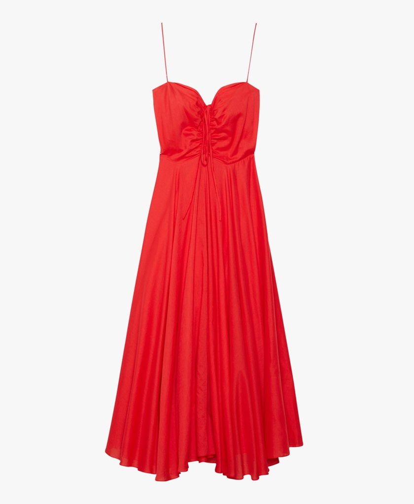 Maidstone Dress, Red