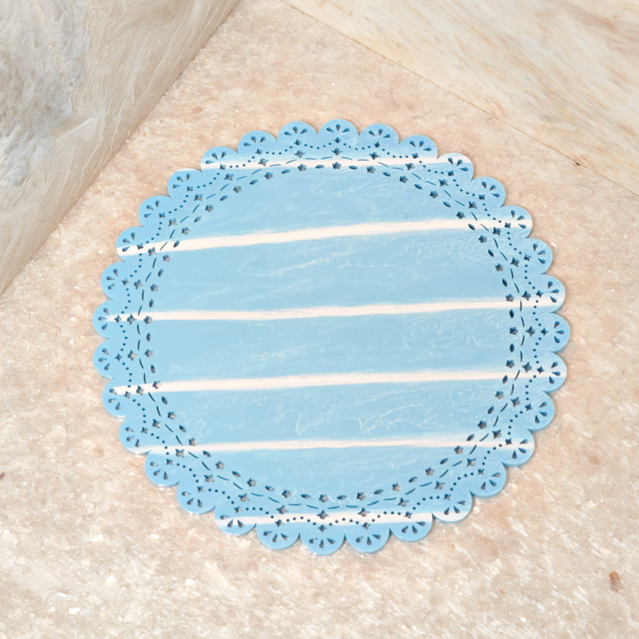 Large Doily, Tide Marble