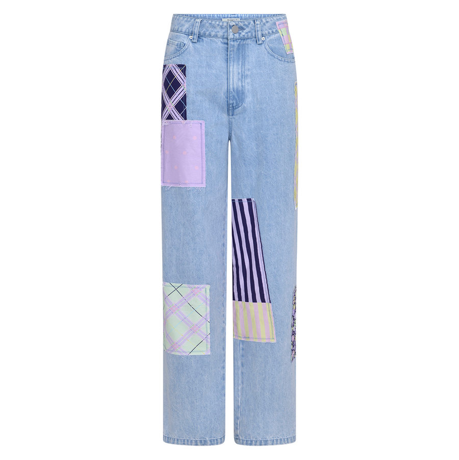 Lynnie Jeans, Dark Patchwork