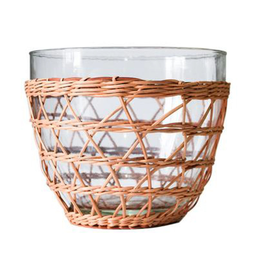 Rattan Cage Salad Bowl, Medium