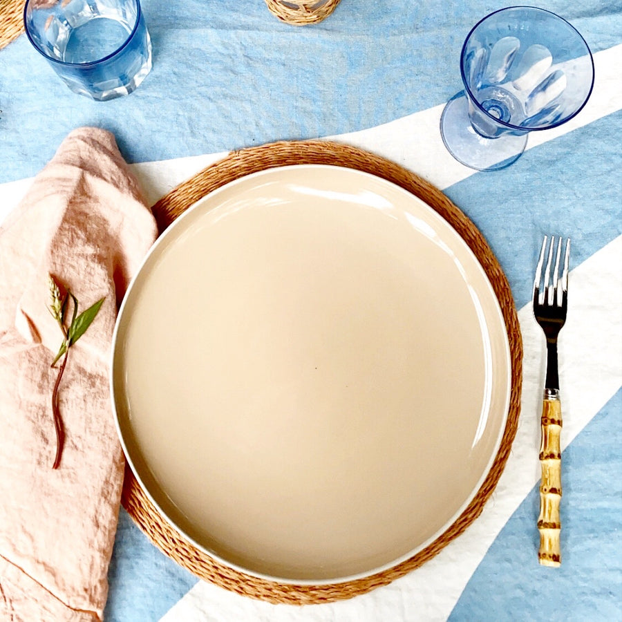 Simple Linen Napkin, Blush