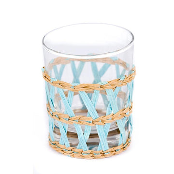 Island Wrapped Tumbler, Light Blue