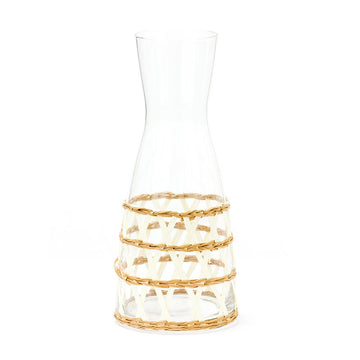 Island Wrapped Carafe, White