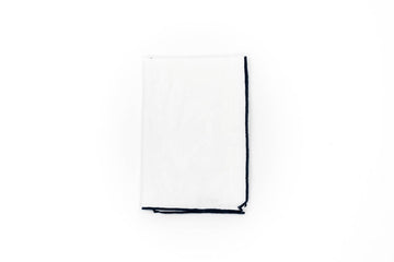 Canvas Mimi Napkin, Marine Blue