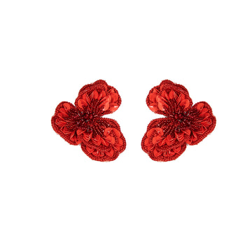 Sasha Earring, Red