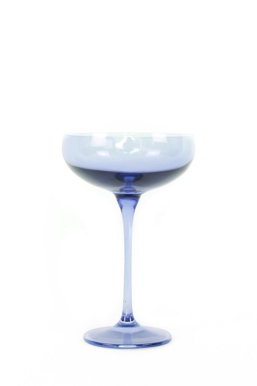 Champagne Coupe (Set of 2), Cobalt Blue