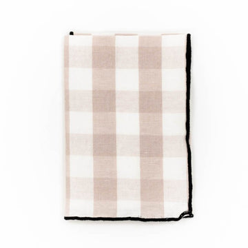 Gingham Napkin, Blush