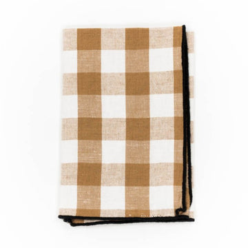 Gingham Napkin, Terracotta