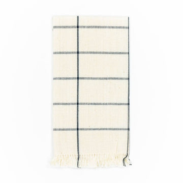 Grid Napkin, Cream
