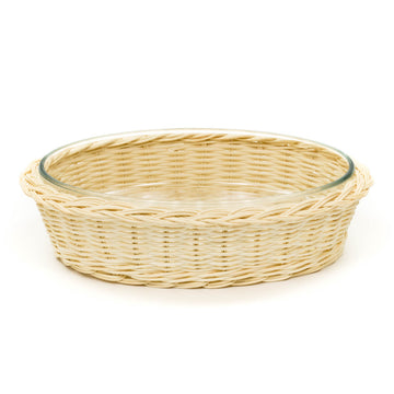 Hot Rattan Oval Buffet, Blonde (Small)