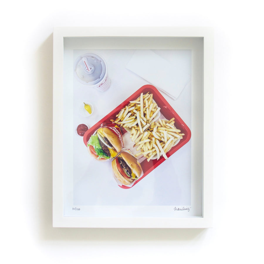 'Fast Food' Framed Print by Traci Ling, Limited Edition