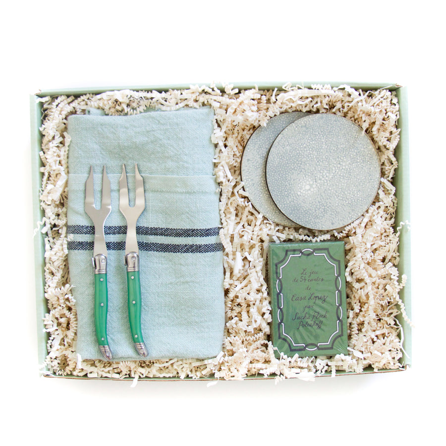 Off Duty Gift Box, Green