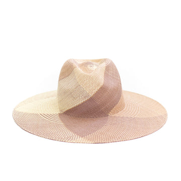 Whirlwind Straw Hat, Mauve