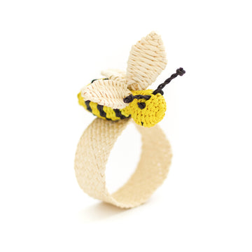 Palm Bee Napkin Ring