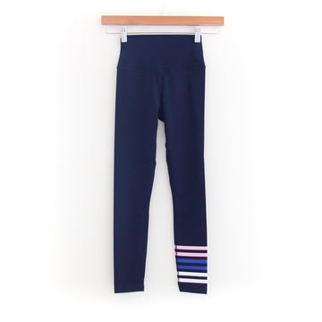 Everyday Legging, Navy x Pink