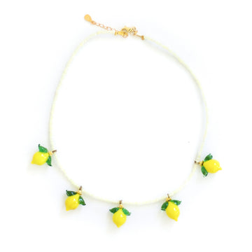 Lemoncello Necklace