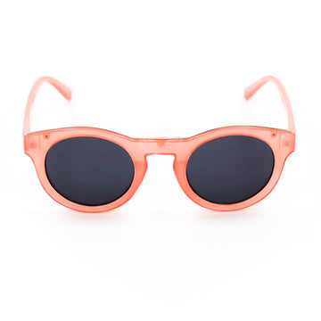 Pink Retro Round Sunglasses