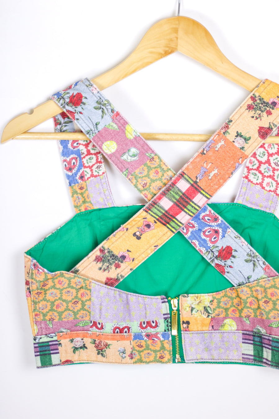 Antonia Pinafore Top, Nanas Quilt