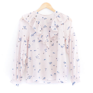 Penelope Blouse, Pale Pink