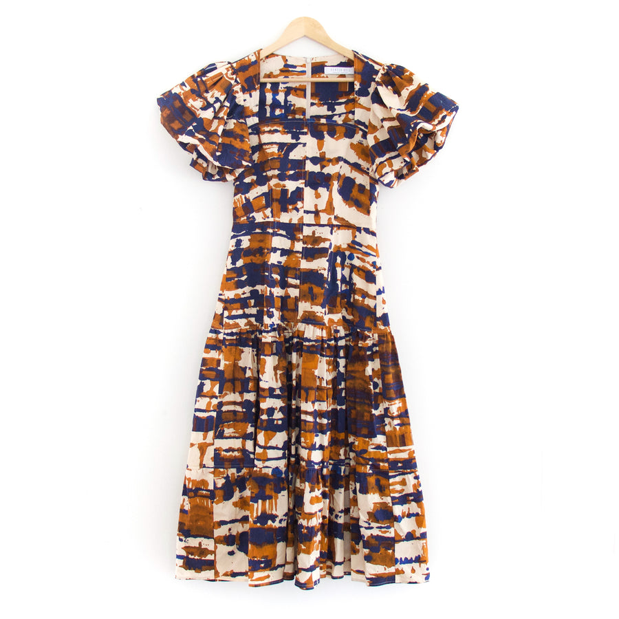 Cassidy Short Sleeve Dress, Skyline