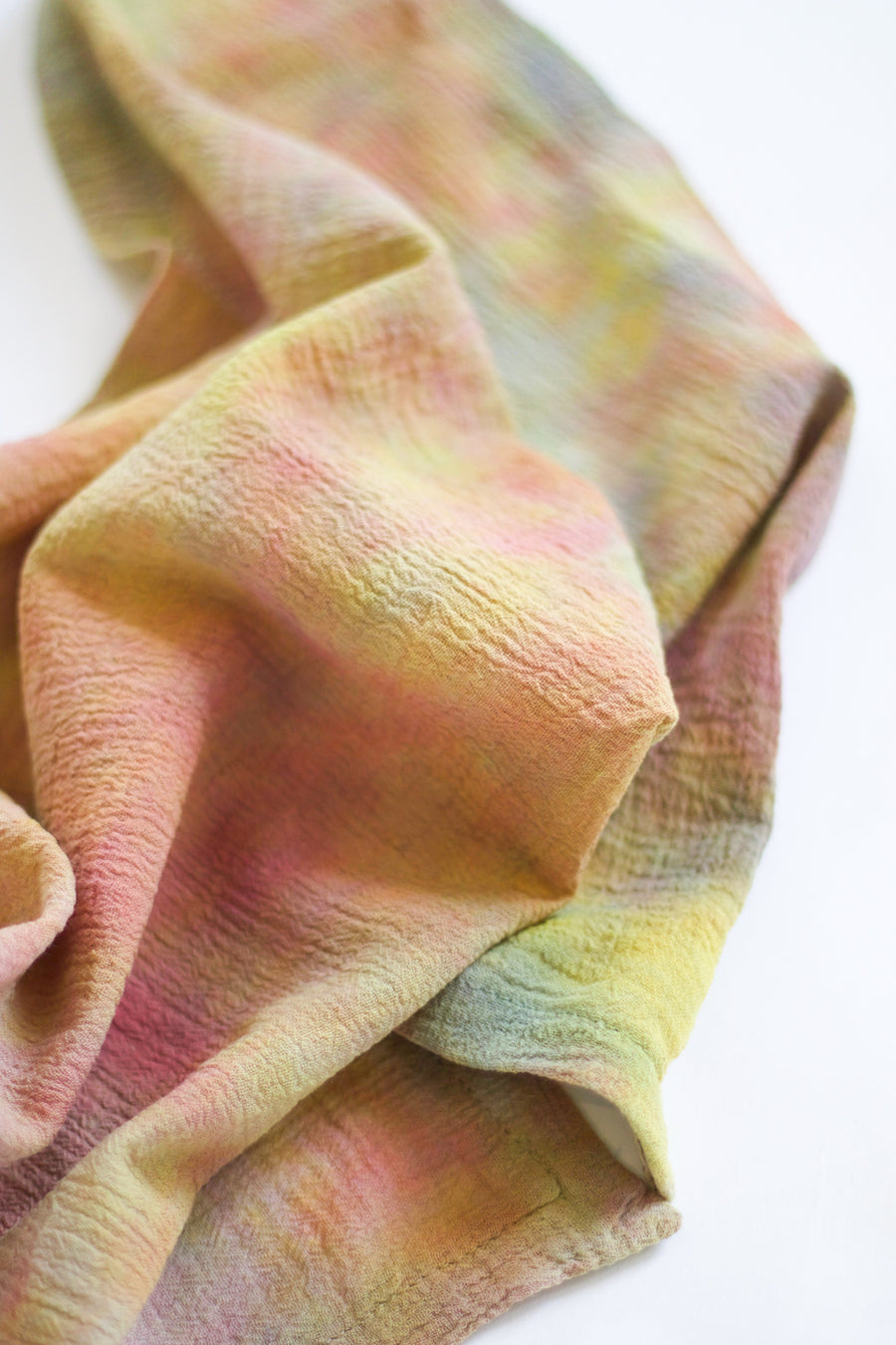 Tie-Dye Cotton Napkin, Autumn Multi