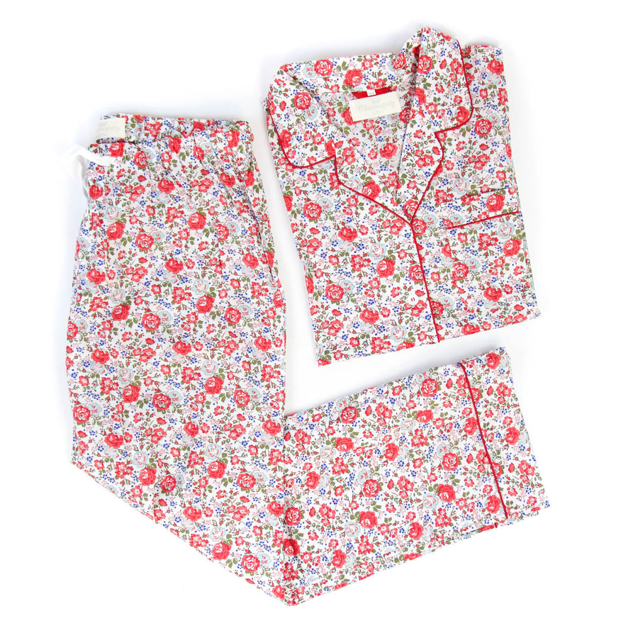 Adult Pajama Set, Felicity Red