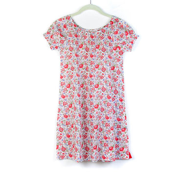 Children's Nightgown, Felicity Red