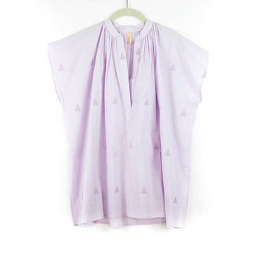 Khadi Diamond Top, Lavender