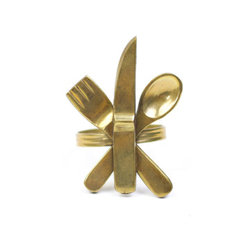 Utensils Brass Napkin Ring