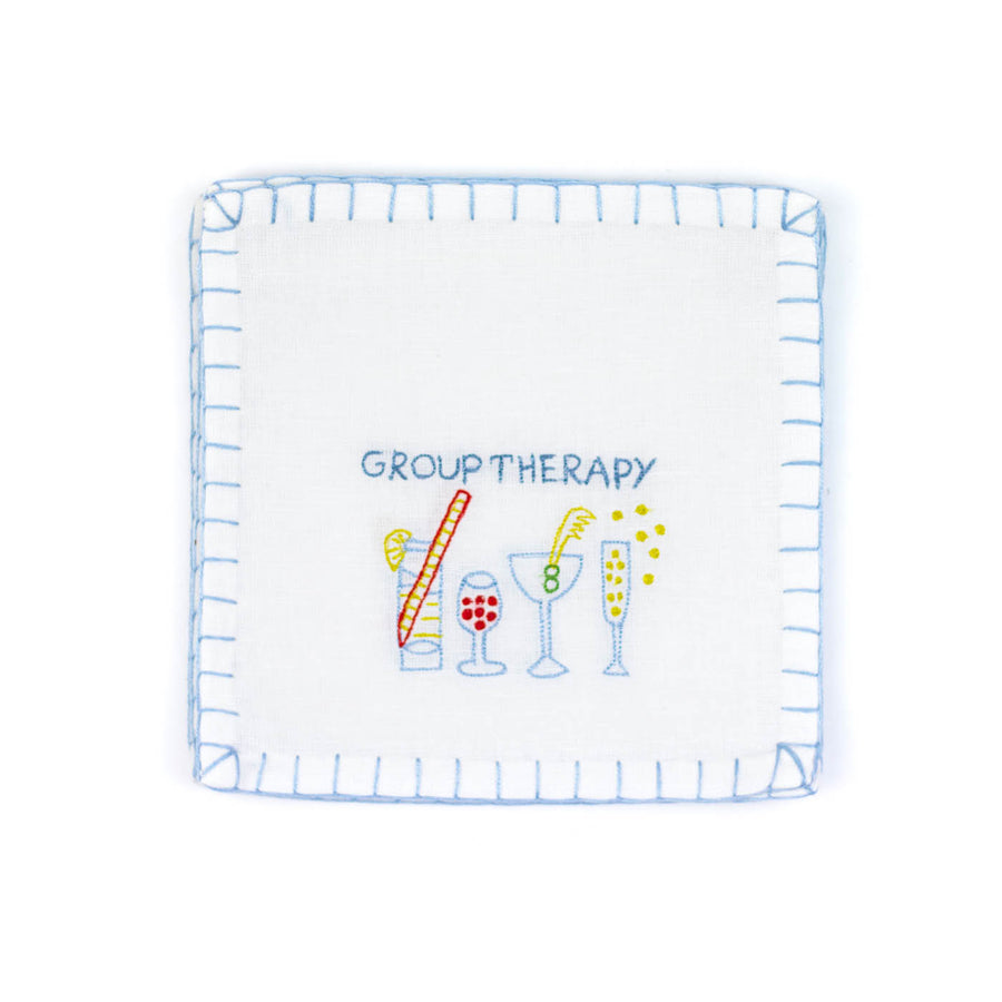 Group Therapy Cocktail Napkins, Set of Six