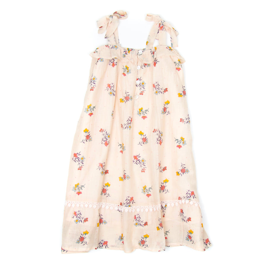 Kids Jaipur Dress, Bouganvilla Print