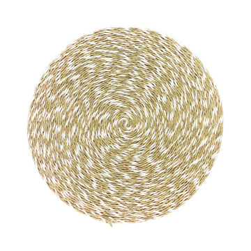 Swirl Woven Placemat, Natural