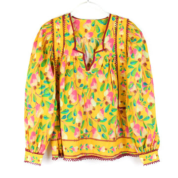 Cashew Blouse, Yellow Multi