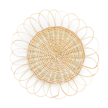 Woven Wicker Placemat, Natural
