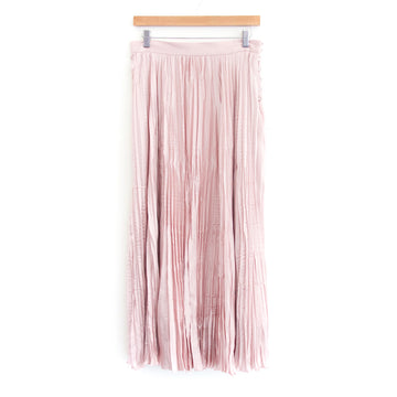 Oates Skirt, Pink Satin