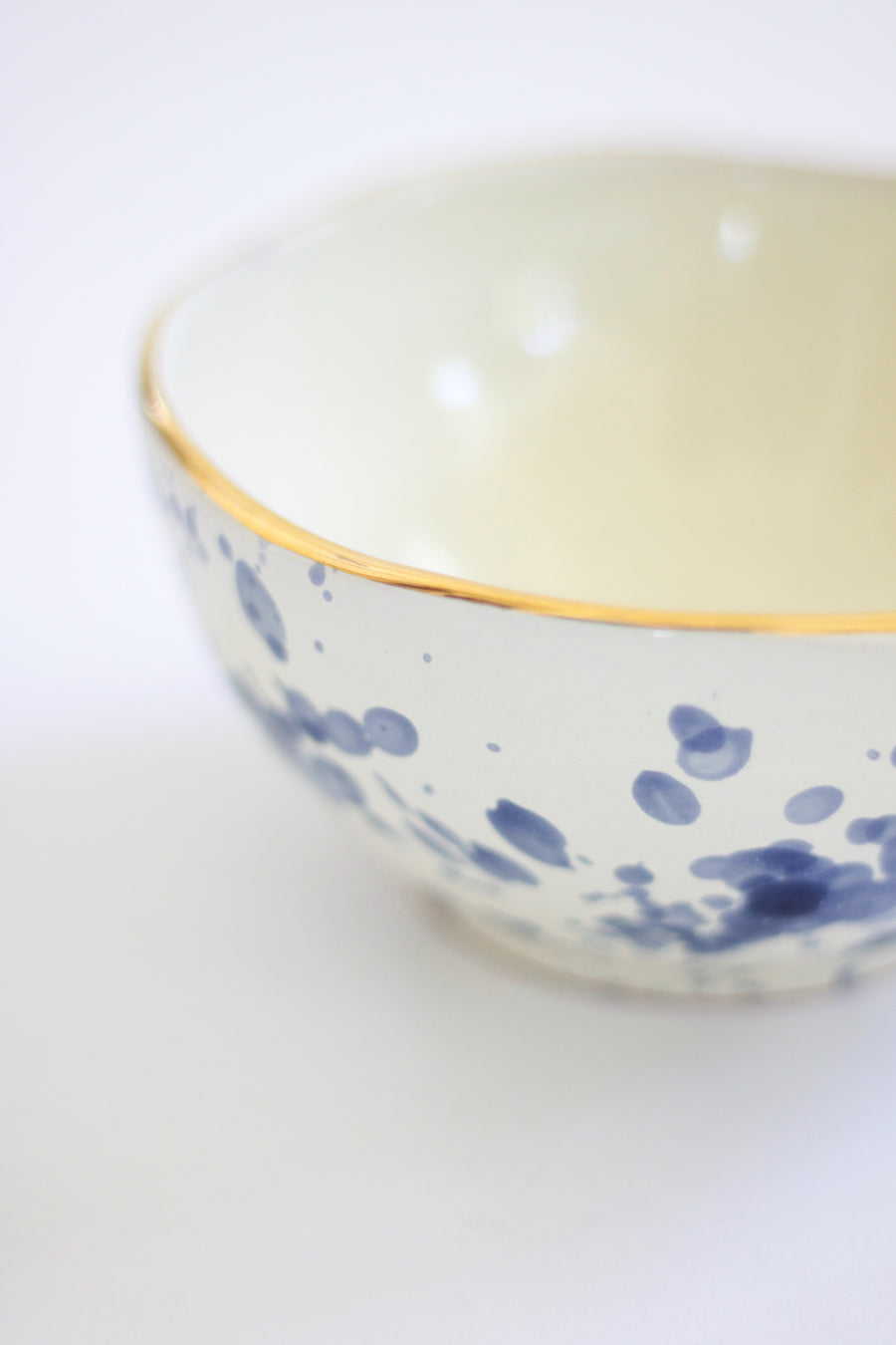 Splatter Little Bowl, Blue