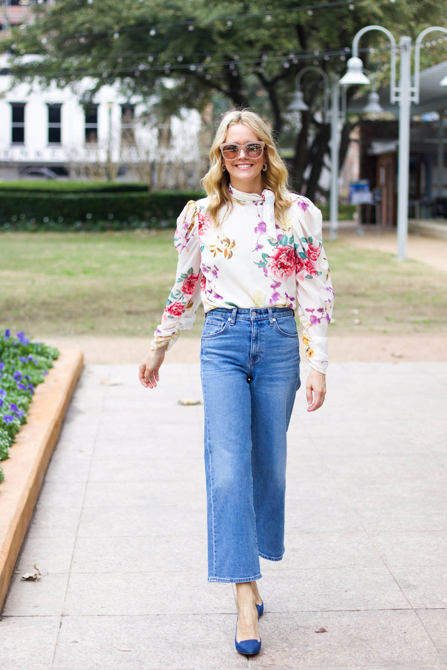 Sunday Cropped Flare Dream Jean