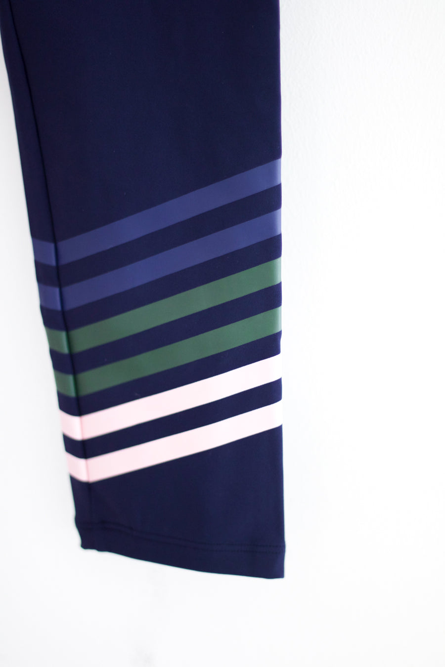 Everyday Legging, Navy x Green